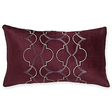 Jcpenney Decorative Pillow : Royal Velvet Dark Raisin Oblong Decorative Pillow - jcpenney Home - Accessories Pinterest ...