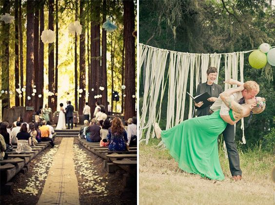 5 Tips To Create A Beautiful Budget Friendly Outdoor Wedding Venue Marrythis Pinterest Venues Weddings And