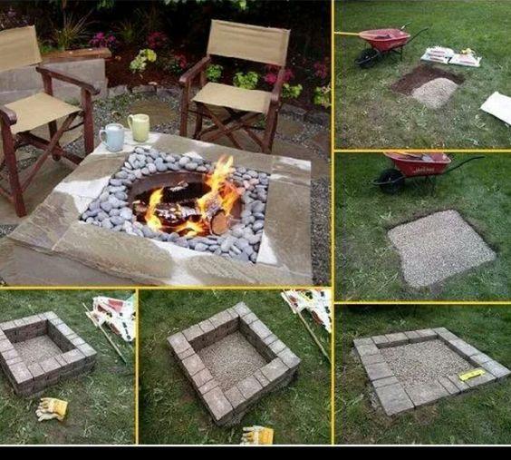 grillplatz | ideen für draussen | pinterest, Hause und Garten