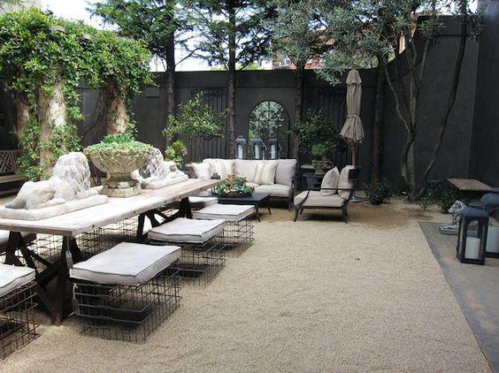 Restoration hardware backyard idea house projects pinterest gardens backyards and - Restoration hardware patio ...