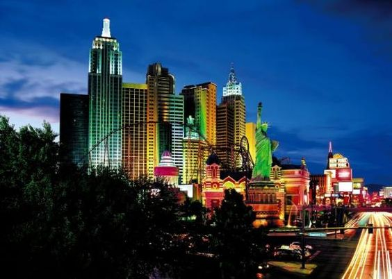 New York New York: amerikanisches Hotel
