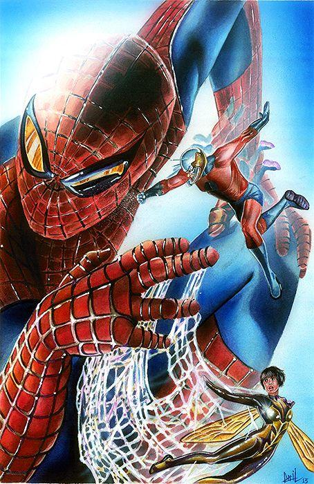 Iron spiderman vs spiderman - photo#16