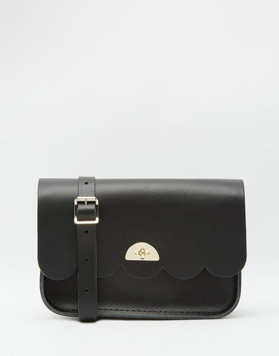 Image 1 - The Cambridge Satchel Company - Petit sac en cuir à découpes festonnées façon nuage