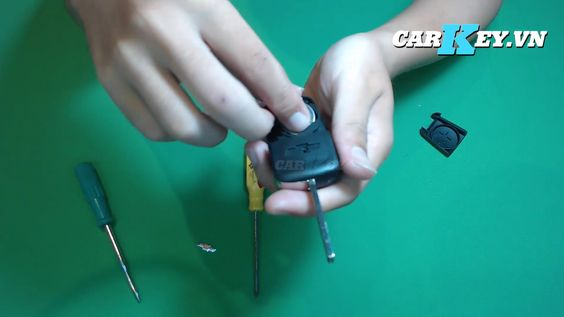 Hướng dẫn thay vỏ chìa Chevrolet Cruze