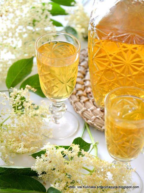 Smaczna Pyza Nalewka Na Kwiatach Czarnego Bzu Food And Drink Alcoholic Drinks Food