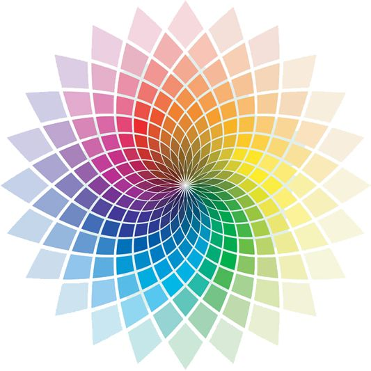 Colour spectrum - I want a poster of this in my office!