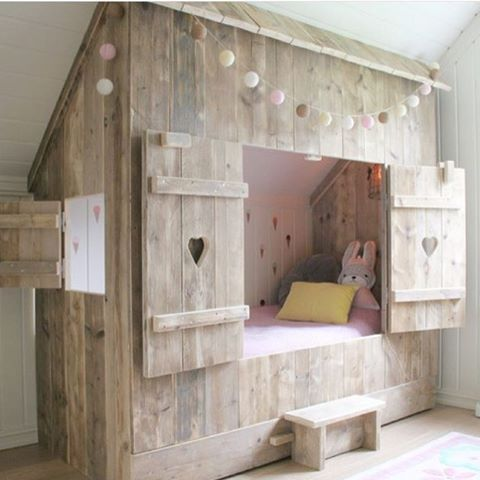 Mommo Design Hideaway Beds Diy Kinderbett Madchen Oder Jungen