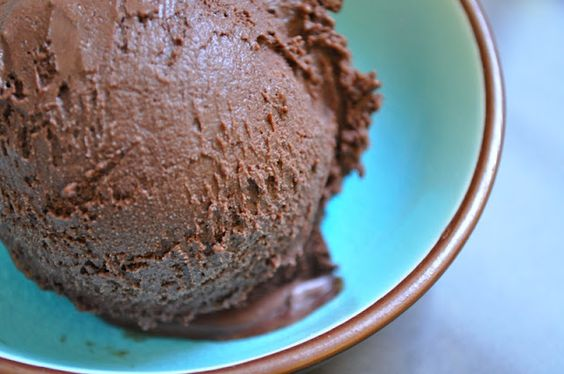 Decadent Chocolate Ice Cream... here comes trouble!