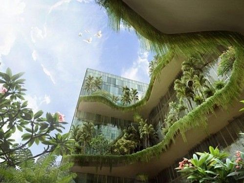 green architecture vertical gardens and future buildings on pinterest. Black Bedroom Furniture Sets. Home Design Ideas