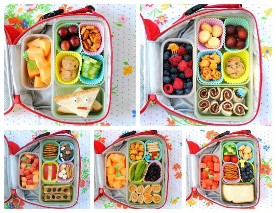 make homemade bento boxes using silicone cupcake liners as reusable lunch sep. Black Bedroom Furniture Sets. Home Design Ideas