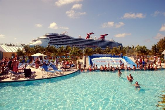 The unique Cruise Center in Grand Turk has a flowrider & much more!