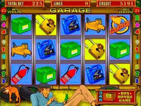 Поиграть в игровые автоматы бесплатно гараж как играть в больше или меньше карты