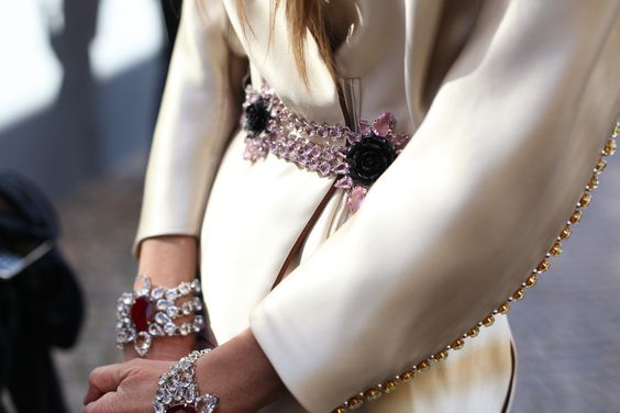 Anna Dello Russo. Bijoux perfection.