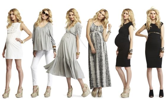 maternity clothes- <3 the long dresses