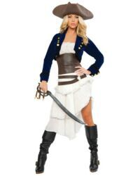 Adult Colonial Pirate Costume