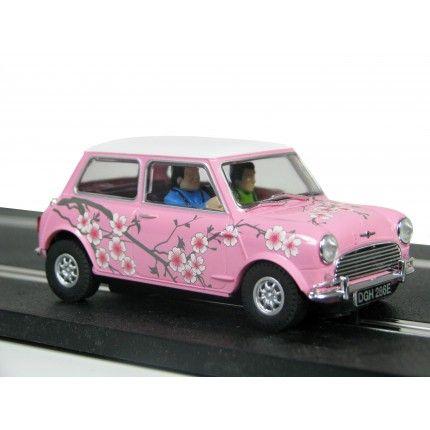 scalextric pink mini cooper slot car mini cooper pinterest scarlet other and we. Black Bedroom Furniture Sets. Home Design Ideas