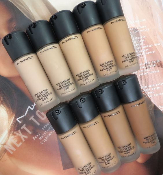What's New: MAC Next To Nothing Complexion Collection (AKA -- The Foundation For The Girl Who Hates Foundation)   Beauty Junkies Unite
