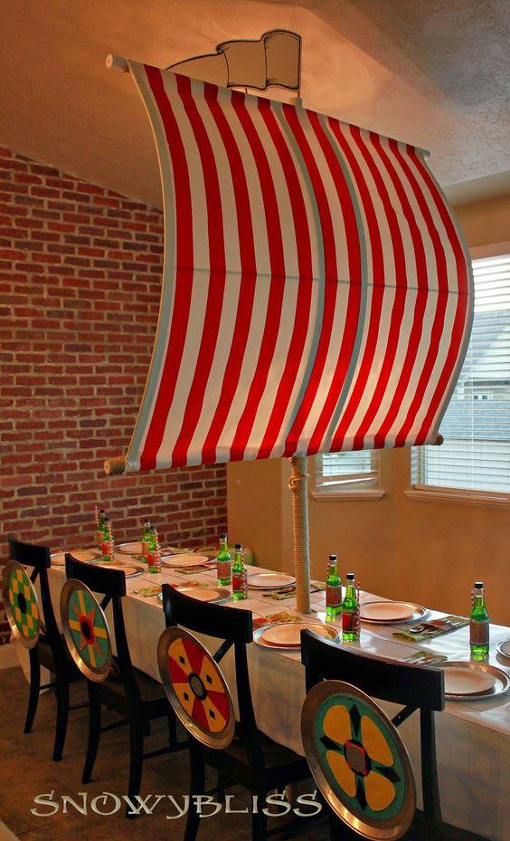 viking table decoration