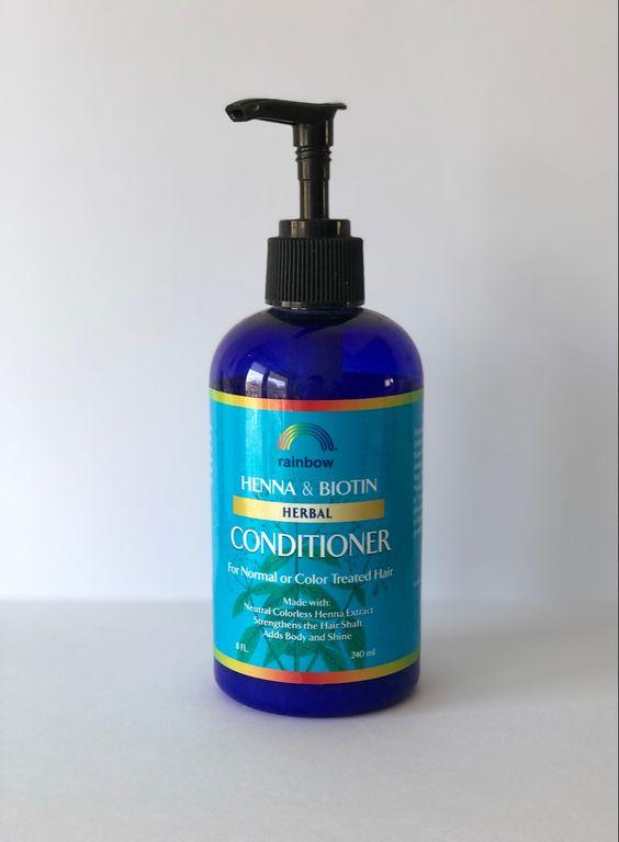 Кондиционер для волос с бесцветной хной и биотином