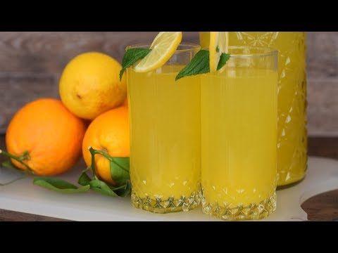 ب3ليمونات و تحضري 2 لتر من العصير المنعش والذيد Youtube Fruit Orange Food