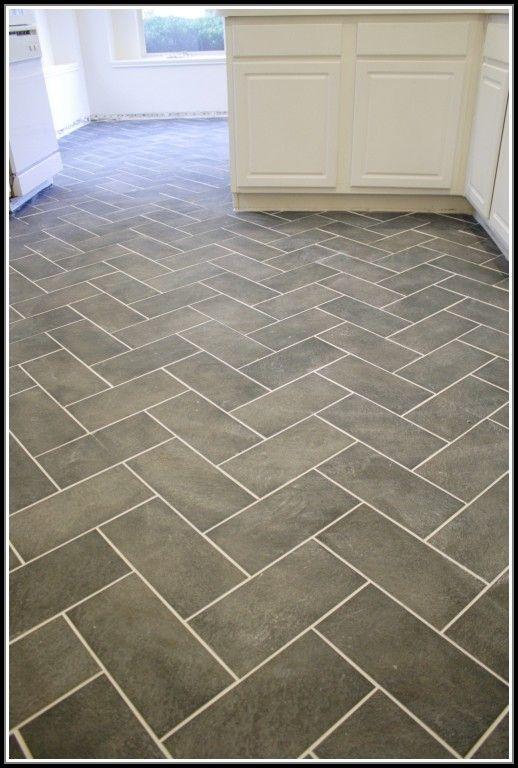 Herringbone Tile Pattern Kitchen Floor Tiles Home Herringbone