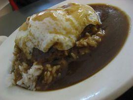 Loco Moco- Hawaiian food