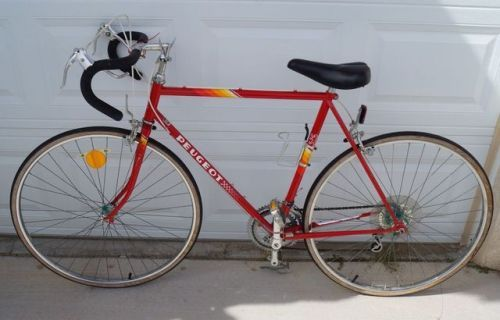 Buy Peugeot Corbier Hle Mens Road Bicycle Mens 10 Speed Vintage Red Bike Peugeot Bike Road Bicycle
