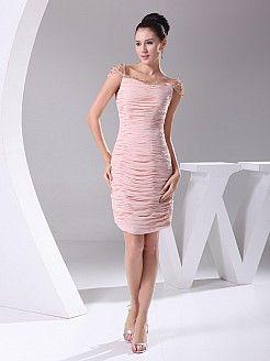 Ranice - θηκάρι Κοντό Σιφόν Φόρεμα Κόμμα'