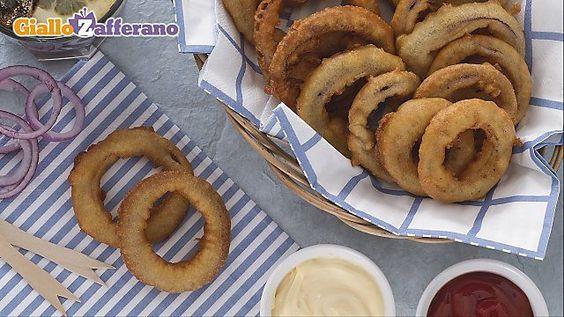 Ricetta Anelli di calamari al forno - Le Ricette di GialloZafferano.it