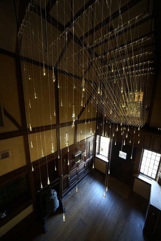 Light Shower 2014 Hermitage Museum and Gardens, Norfolk, Virginia Mixed media (optical fibre, acrylic, light source)
