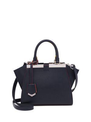 FENDI 3Jours Mini Leather Satchel. #fendi #bags #shoulder bags #hand bags #leather #satchel #
