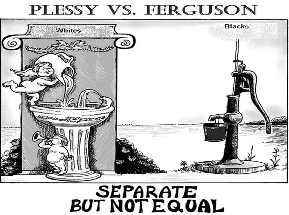 """plessy v ferguson a controversial case Plessy v ferguson, case in which the us supreme court, on may 18, 1896, by a seven-to-one majority (one justice did not participate), advanced the controversial """"separate but equal"""" doctrine for assessing the constitutionality of racial."""