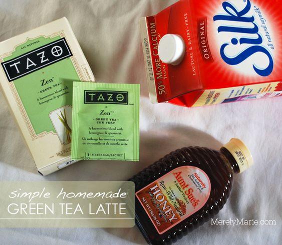 Almonds, Tea Latte And Tazo On Pinterest