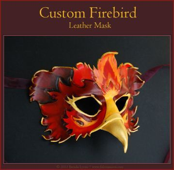 Hummingbird Leather Mask by windfalcon on DeviantArt