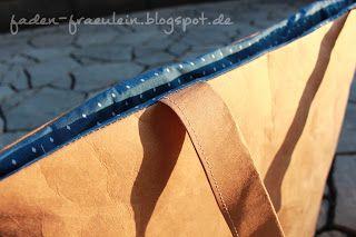 FadenFräulein: Handtasche aus SnapPap