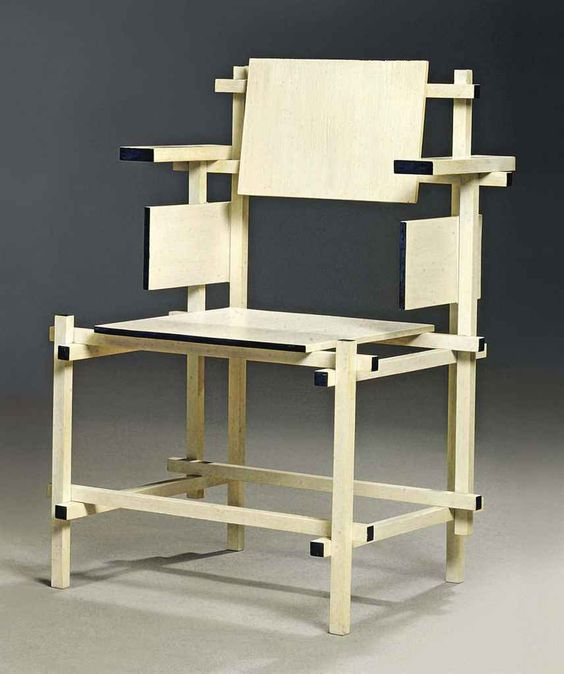 gerrit rietveld dining chair 1919 furniture. Black Bedroom Furniture Sets. Home Design Ideas