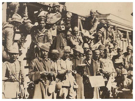 Combatentes paulistas em Lorena, 1932. Photobucket