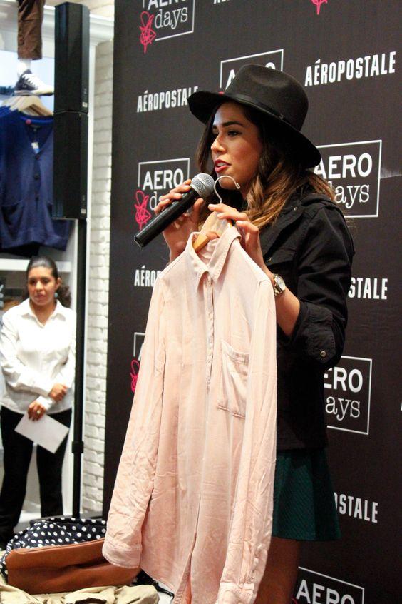 #AeroDays | Oct 13 | Los mejores tips de moda y redes sociales con Hola Sunshine & LuisaFerss 😍 en nuestra boutique Oasis Coyoacán