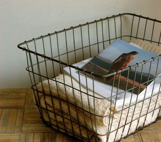 Superb Industrial Storage Basket