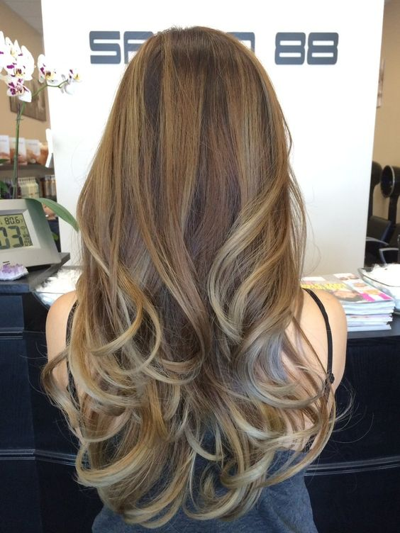 Hair By Lily , My recent ombre/balayage with ash blonde, but this picture