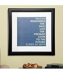 Personalized Trendy Graduation Print