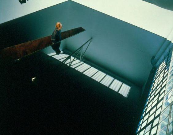 Upside Down London Art Richard Wilson Gallery
