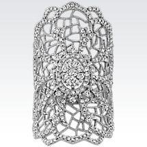 Vintage Round Diamond Ring Image