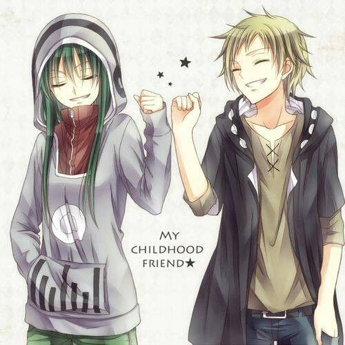 Pin By Yunie On Anime Friend Anime Anime Best Friends Boy