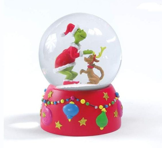 How the Grinch Stole Christmas Snow Globe