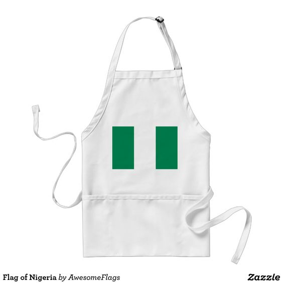 Flag of Nigeria Standard Apron