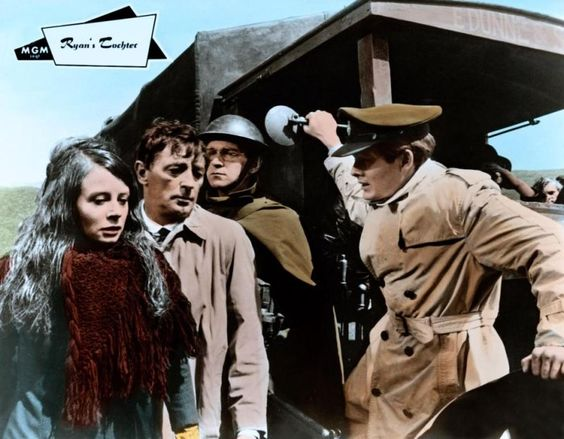 Sarah Miles, Robert Mitcham and Christopher Jones in Ryan's Daughter, 1970