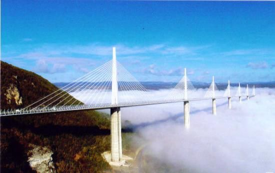 Viadukt von Millau, Millau, Frankreich