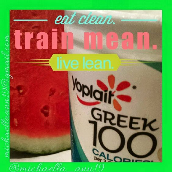 Ever crave a late night snack that you just can't seem to beat? Me too! The struggle is real. How do I curb these cravings? I chose the healthy alternative! To night was a slice of watermelon and some vanilla Greek yogurt. Mmm Mmm good!
