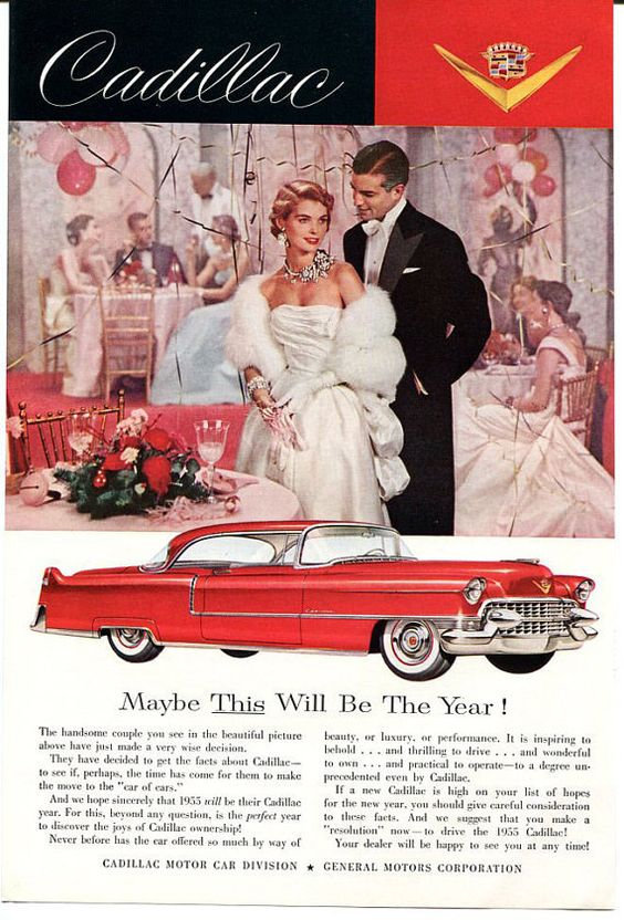 """Cadillac, """"Maybe THIS Will Be The Year"""""""
